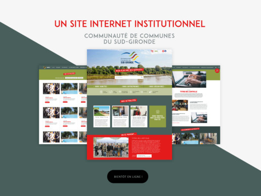 CdC Sud-Gironde - Site Internet